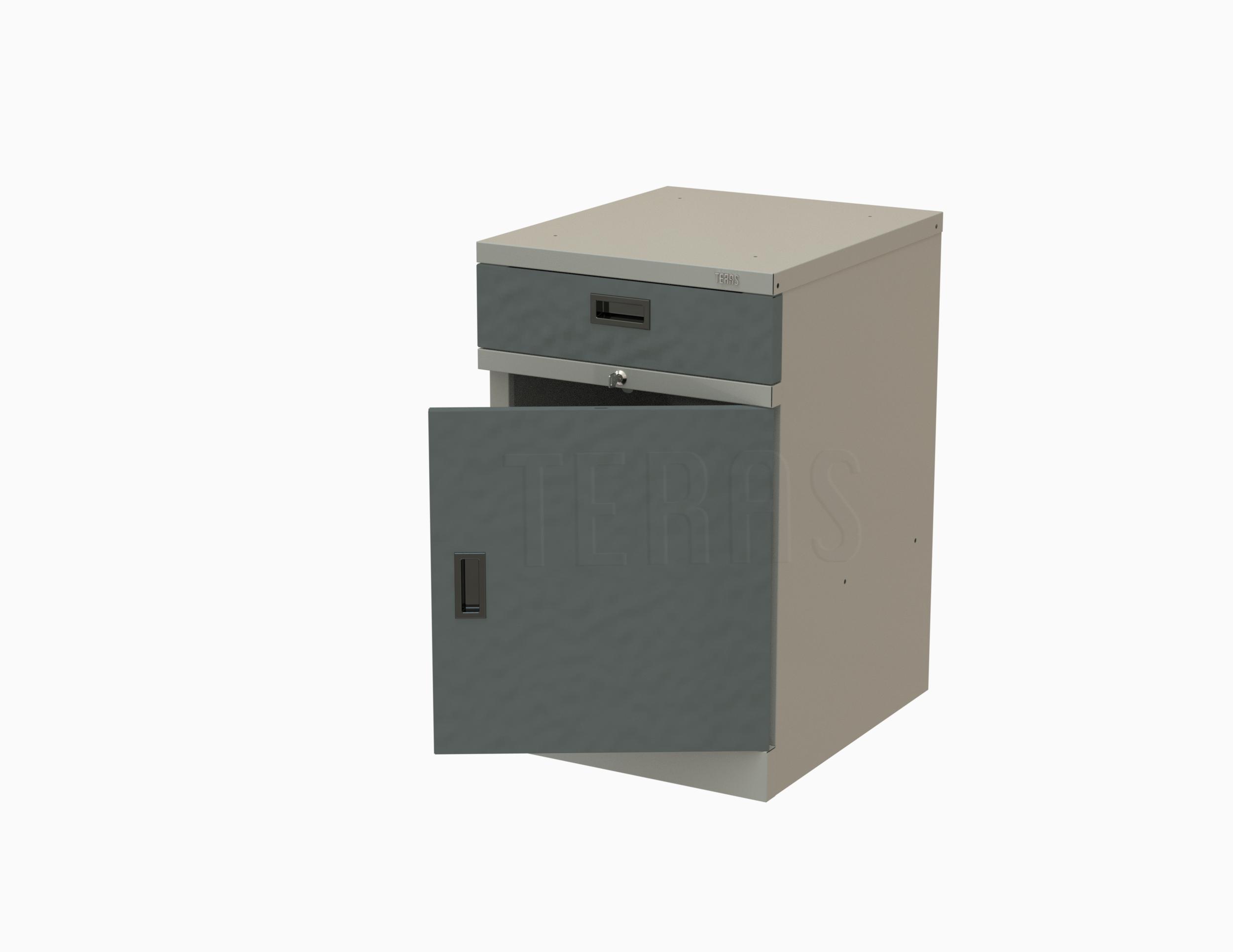 Тумба с дверцей и одним ящиком